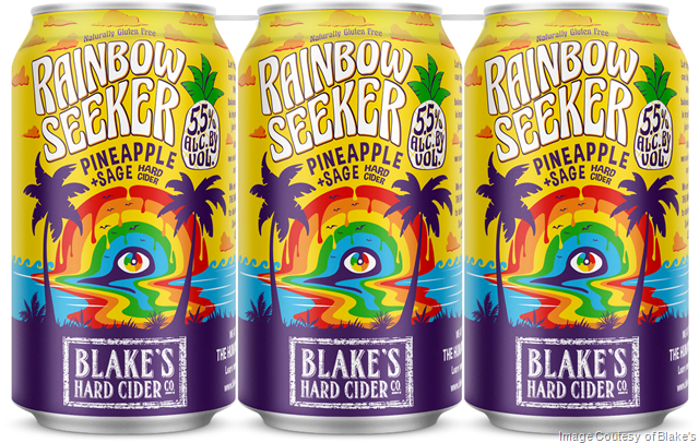 Blake's Hard Cider Introduces New Kinder Cider Series with Proceeds to Benefit LGBTQ Civil Rights Organization
