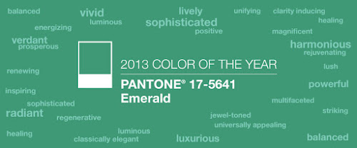2013 Pantone Color of the Year: Emerald 17-5641