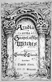 Cover of Charles Godfrey Leland's Book Ariadia Or A Gospel Of The Witches