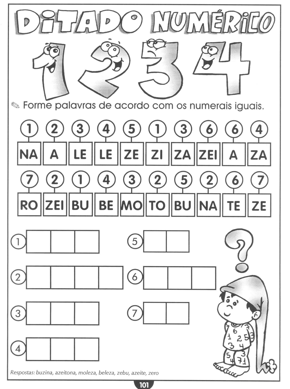 Preferência Blog Educação de Valor: Atividades de Alfabetização QW09