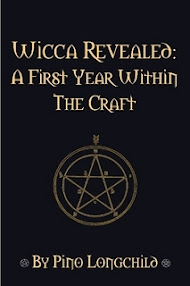 Cover of Pino Longchild's Book Wicca Revealed A First Year Within The Craft