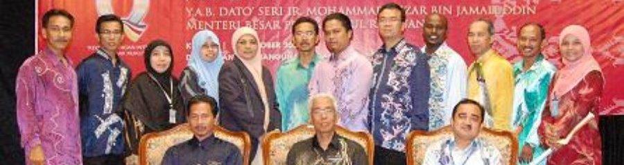 Menerima Anugerah Inovasi Peringkat Negeri Perak 2008 - Johan Bagi Projek e-Daftar