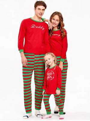 set pigiami per famiglia