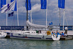 J/111 sailing RORC series