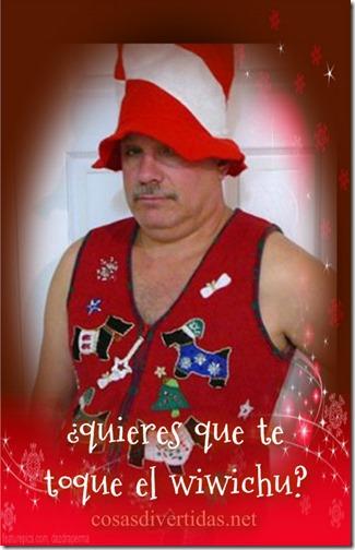 feliz navidad gente rara y fea cosasdivertidas (1)