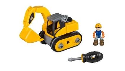 Xe đào đất CAT và dụng cụ lắp ráp