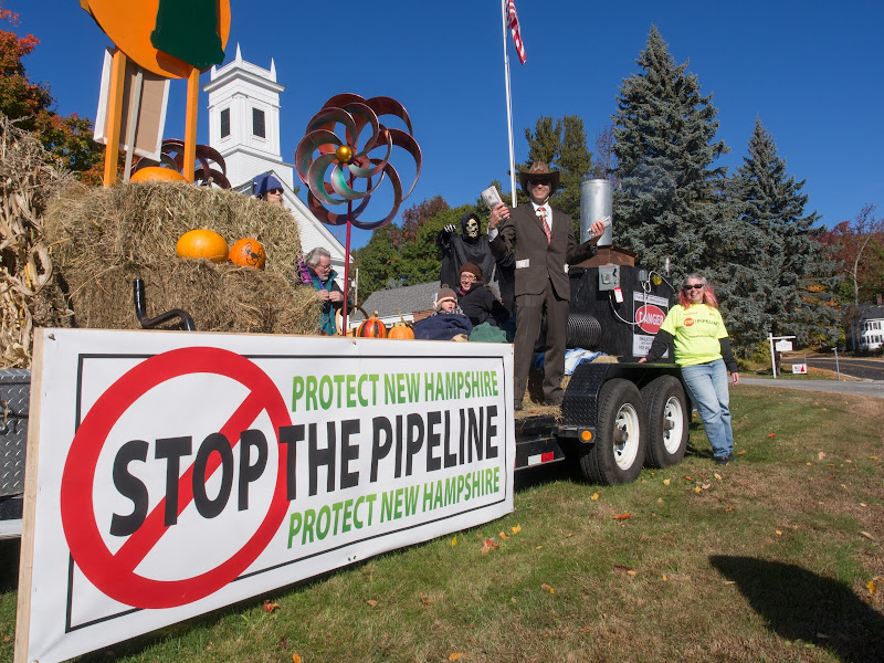 Pipeline Protest Float