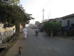 Mathura road in the morning
