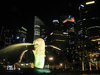 The MerLion - Downtown Sinapore