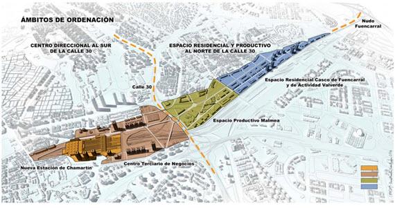 'Madrid, Puerta Norte' propuesta del Ayuntamiento para la Operación Chamartín