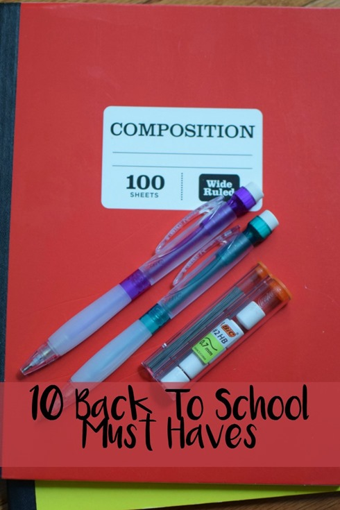 10 Back To School Must Haves