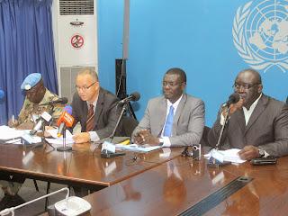 Conférence de l'Onu du 27/08/2014 à Kinshasa. Radio Okapi/Ph. John Bompengo