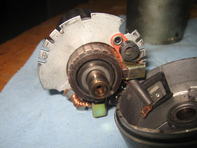 Starter Motor Cleaning Tutorial IMG_9473