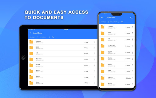 file manager pro with best booster and analyzer screenshot 2