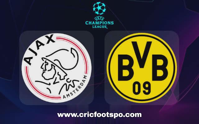 Watch Ajax vs Borussia Dortmund: UEFA Champions League Live Stream info