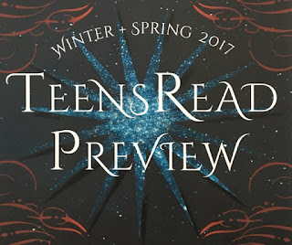 TeensRead Preview Winter + Spring 2017