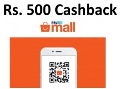Paytm Mall - Rs. 500 cashback on Rs. 1500