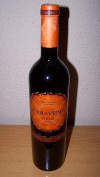 Maravides Syrah 2012, Vino de la Tierra de Castilla y León