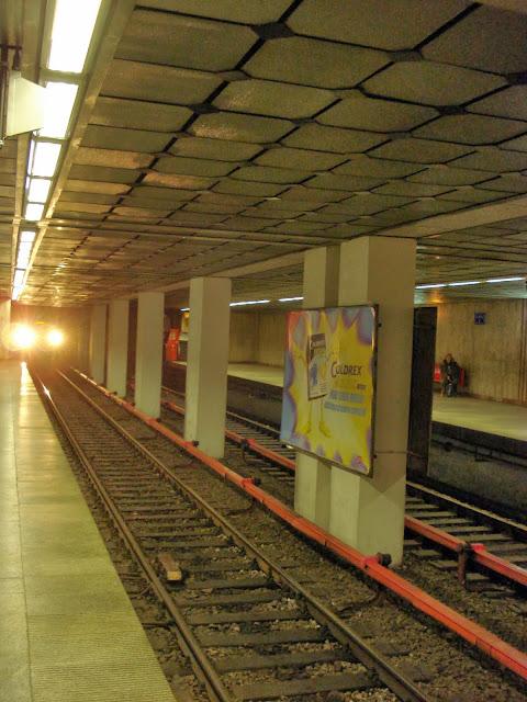 Train entering 1