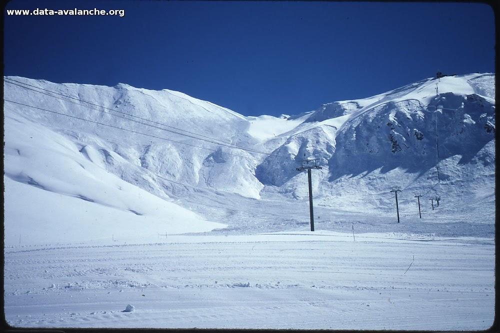 Avalanche Mont Thabor, secteur Punta Bagna, Pentes Nord - Photo 1