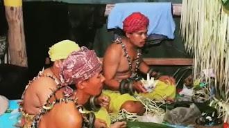 Ini Ritual Magis Masyarakat Ibu Kota Negara Baru di Kalimantan Timur di