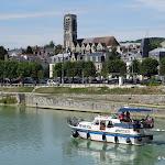 La Marne et l'Eglise Saint-Crépin
