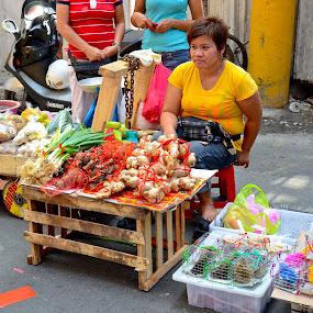 Ongpin's street Market by Yuri Saito - City,  Street & Park  Markets & Shops ( pwcmarkets )