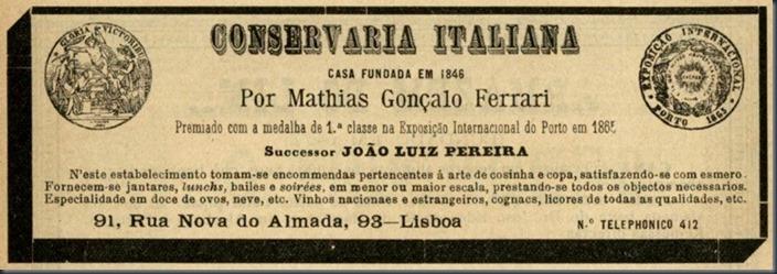 1903 Conservaria Italiana