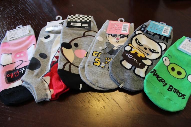 More Cute Korean Socks