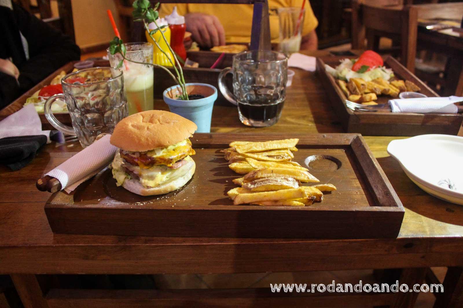 Stuffz El Grande Burger