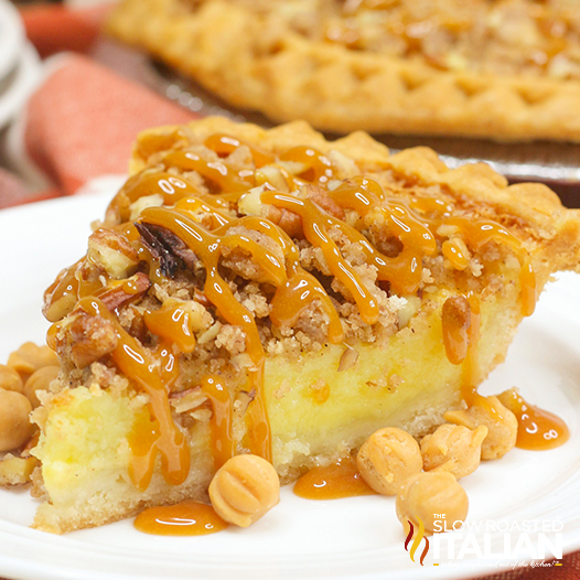Caramel Pecan Buttermilk Pie
