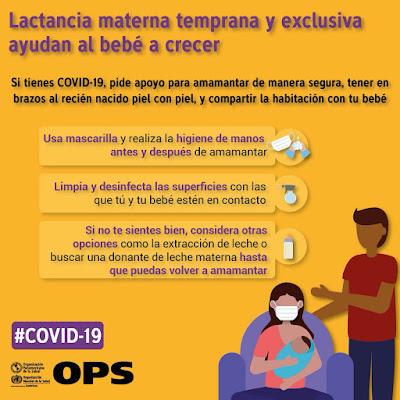 """Alt=""""Recomendaciones lactancia y coronavirus"""""""
