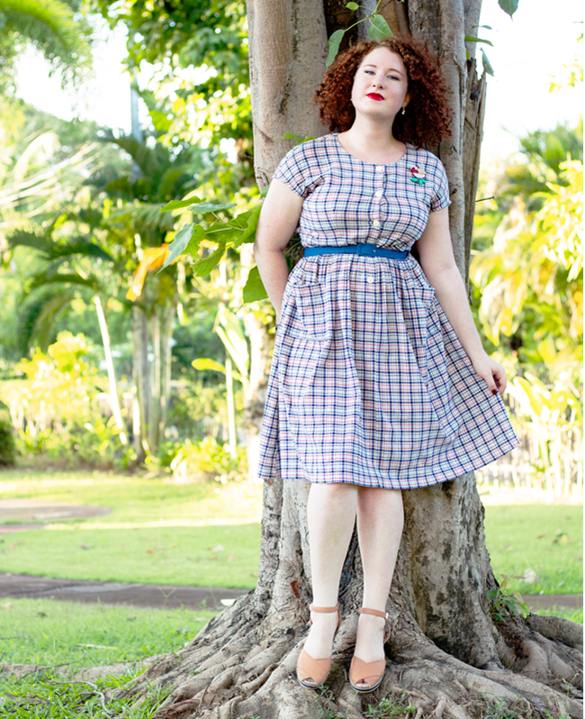 Breezy vintage style for tropical heat | Lavender & Twill
