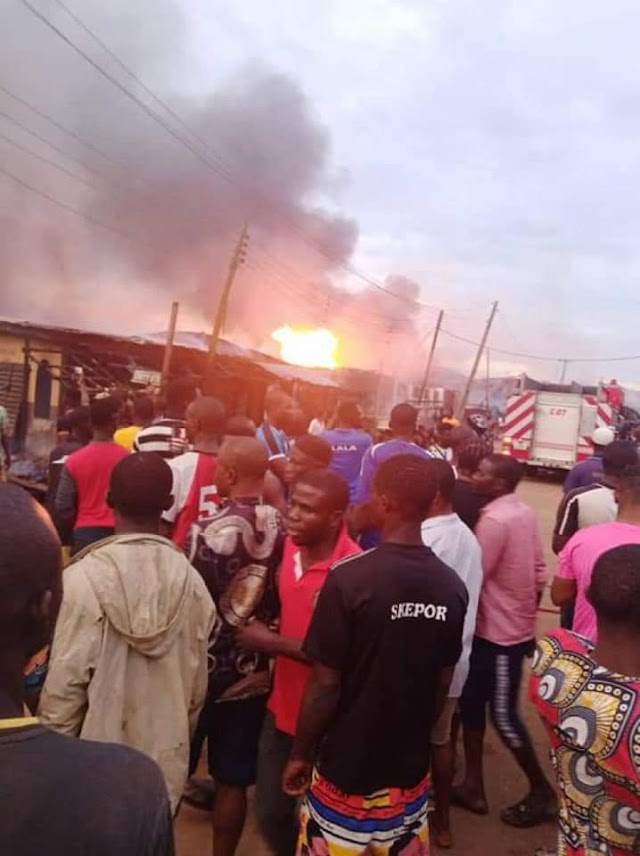 See The Level Of Damages And Casualties From The Lagos Gas Explosion