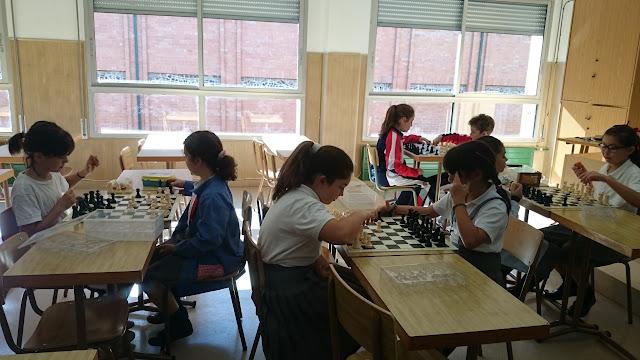 Resultado de imagen de ajedrez colegio santa ana