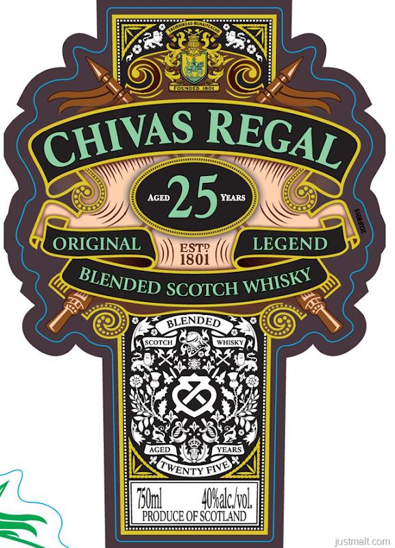 Chivas Regal 25-Year Original Legend
