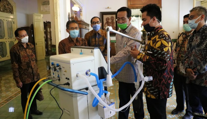 Covid-19, UGM Kenalkan Ventilator Buatannya
