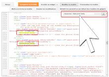 Rechercher dans le code du modèle