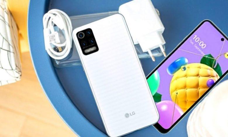 LG K52 maroc