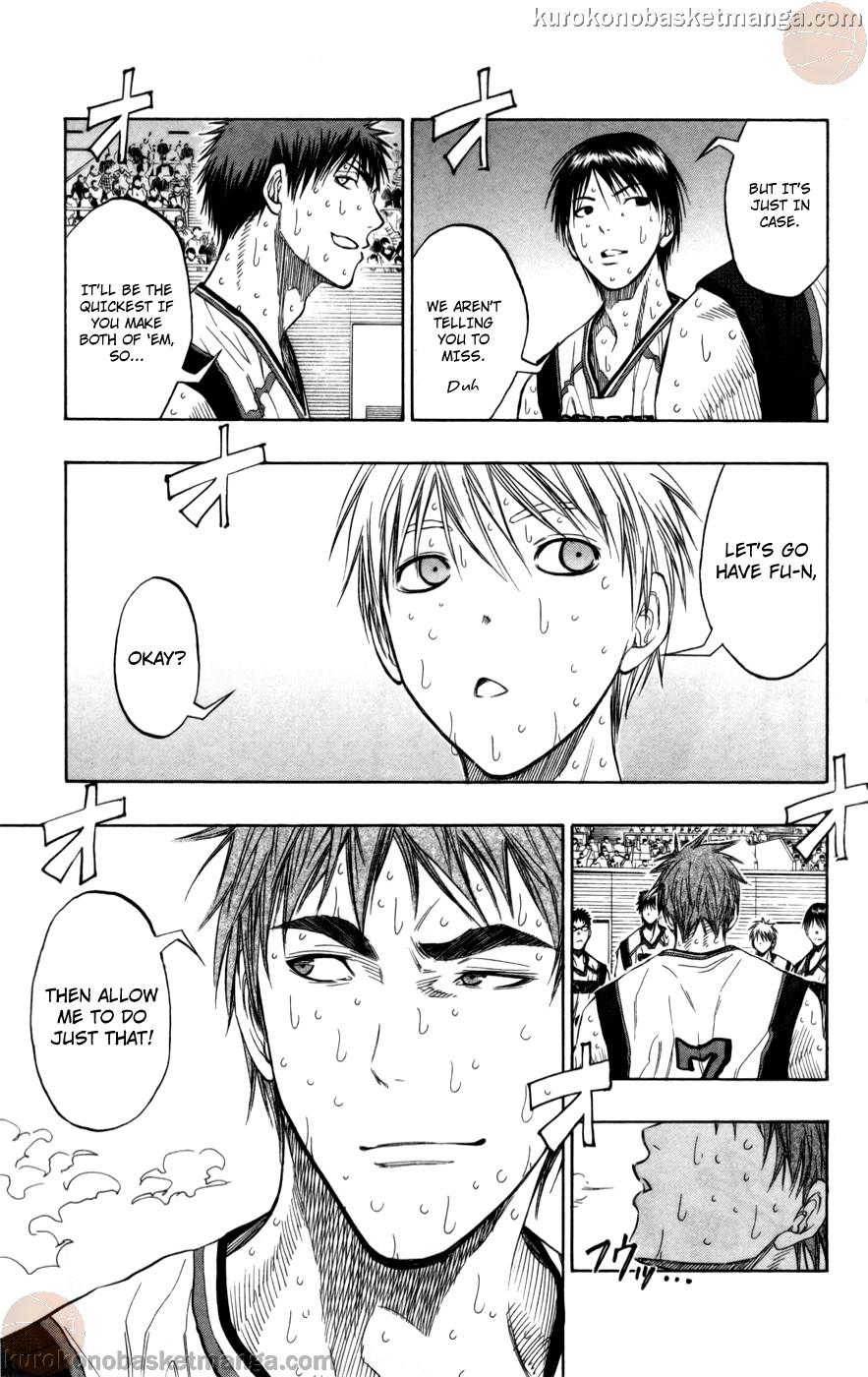 Kuroko no Basket Manga Chapter 92 - Image 09