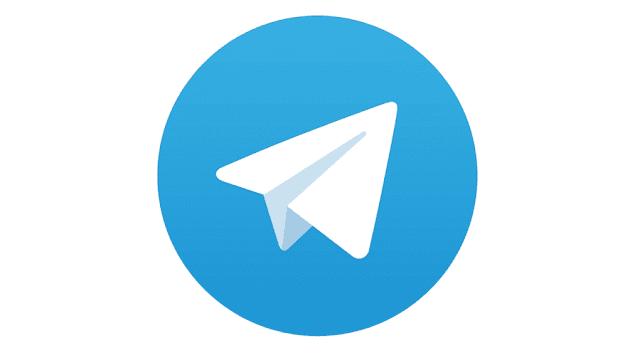 blank name on Telegram apps