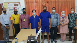 Penyidik Satresnarkoba Polresta Banda Aceh Limpahkan Tersangka dan Barang Bukti ke Kejari Aceh Besar