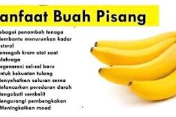 Manfaat buah pisang bagi kesehatan