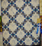 2005 Quilt Show - (F) Pieced Lap Hand Quilted
