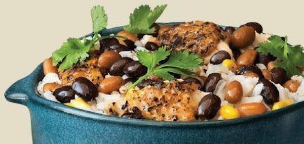 Chicken, Rice & Beans Recipe