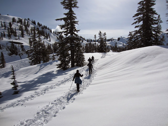 Snowshoeing / Credit: Bellingham Whatcom County Tourism