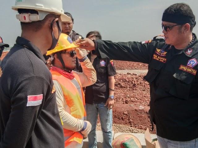 Aksi Kepedulian BPPKB Untuk Pekerja PT. TAIFA Jaya Development