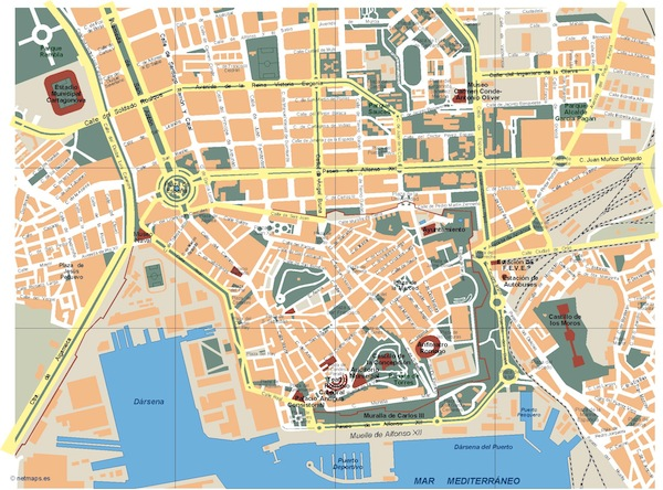 Cartagena mapa
