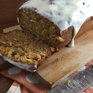 Butternut Squash Bread with Cream Cheese Frosting