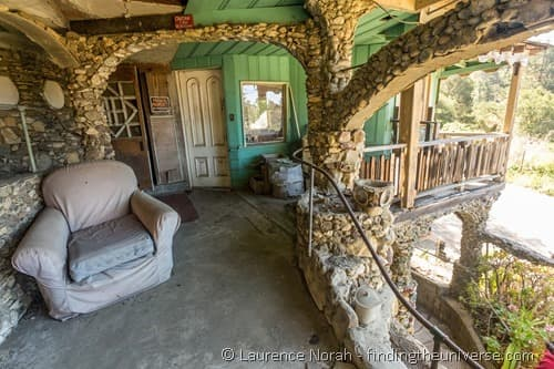 Nitt Witt Ridge house Cambria California Porch